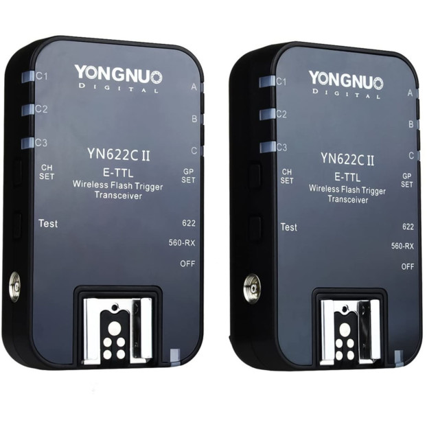 Yongnuo YN622C II Wireless TTL Flash Transceiver (2 stuks) voor Canon