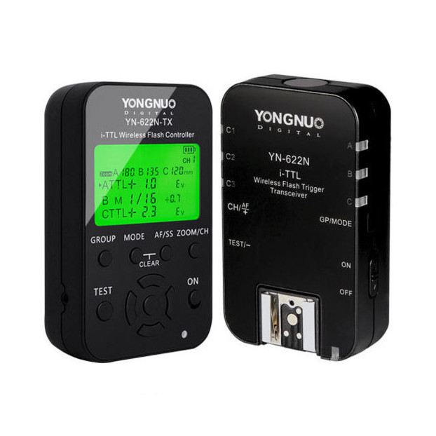 Yongnuo YN622N Kit (Wireless TTL Flash Trigger Set) voor Nikon