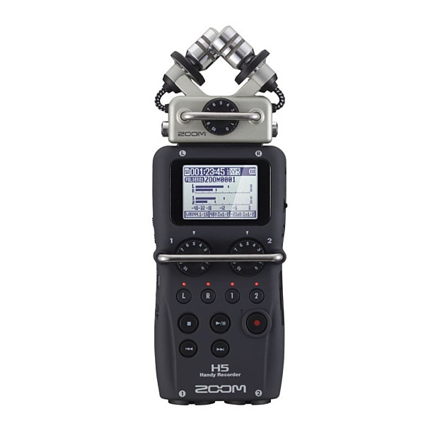 Zoom H5 portable Audiorecorder