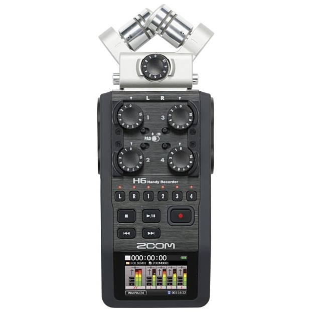 Zoom H6 portable Video/Audiorecorder