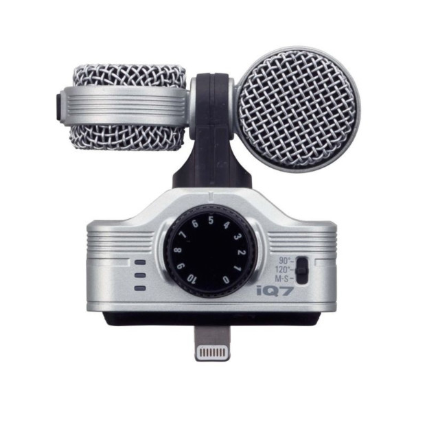 Zoom iQ7 MS Stereo Microfoon voor iPhone, iPad en iPod Touch