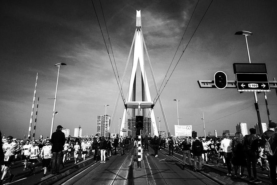 Marathon van Rotterdam met de Samyang 24mm en 35mm FE-lenzen