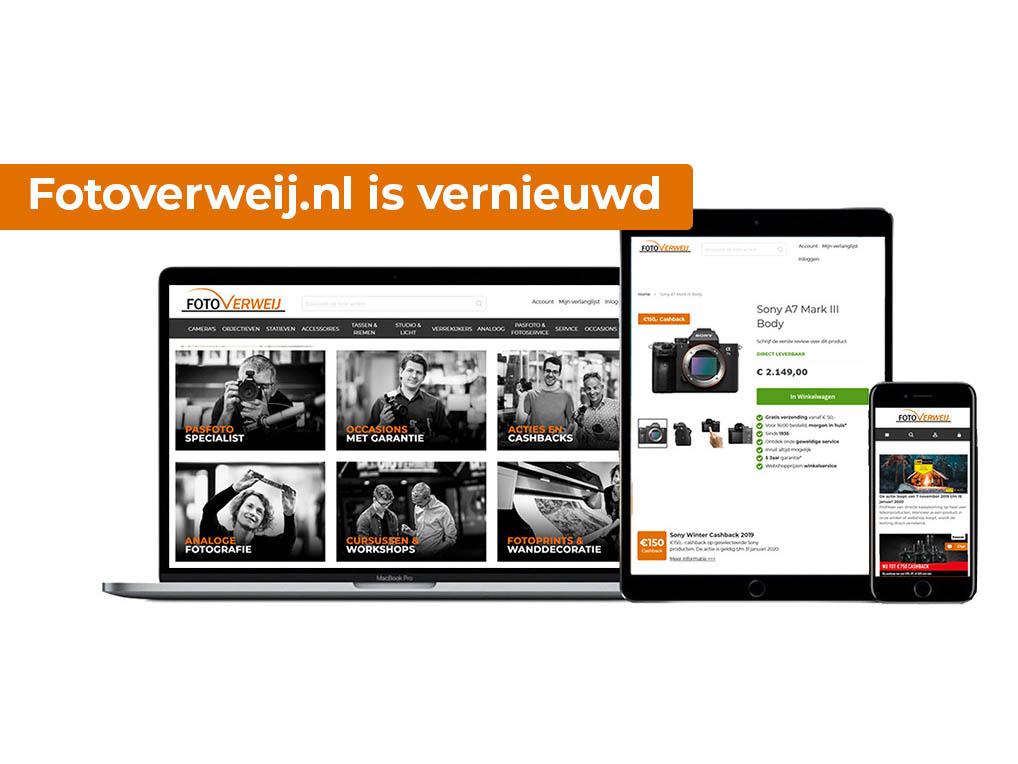 Vernieuwing website