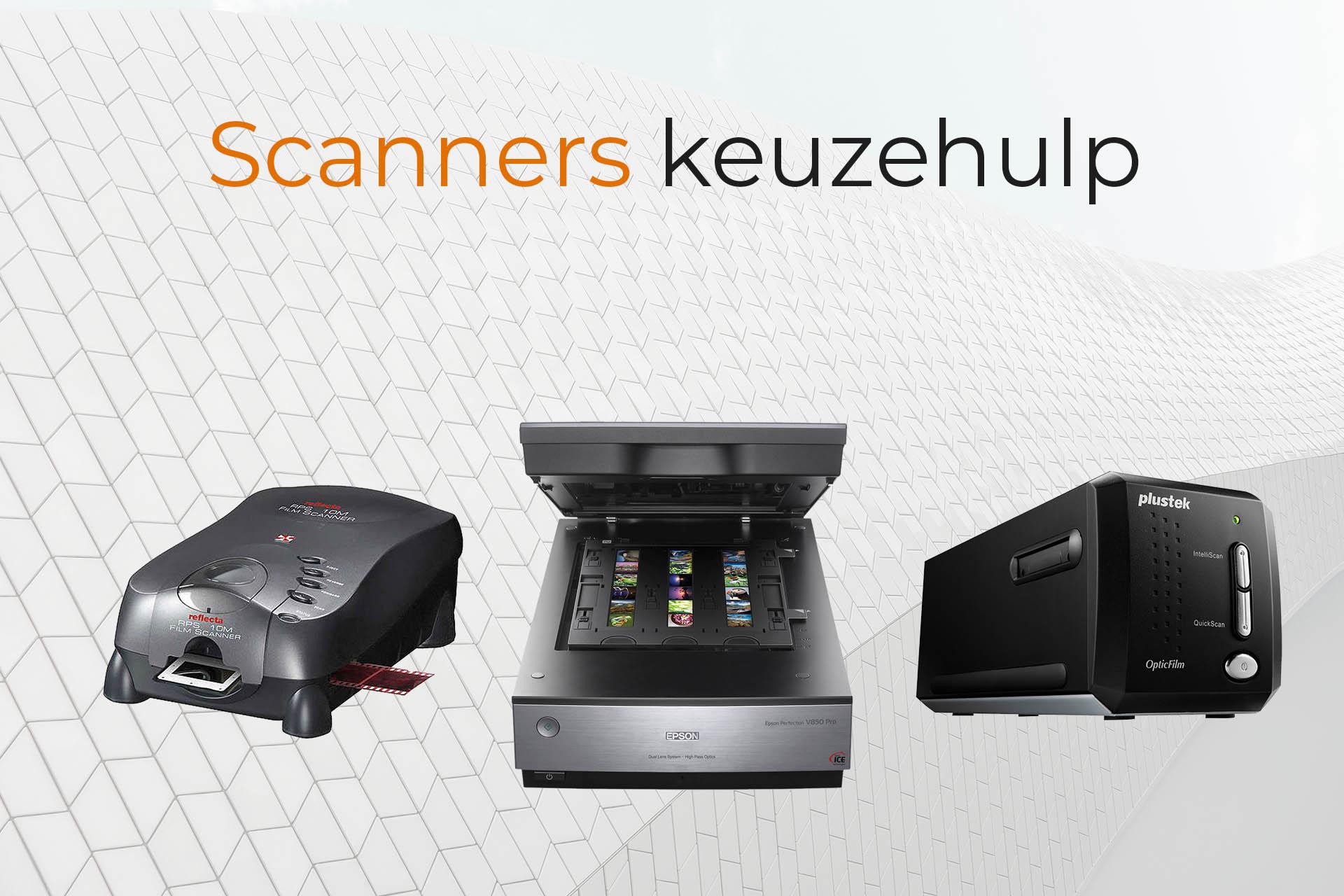 Filmscanners keuzehulp