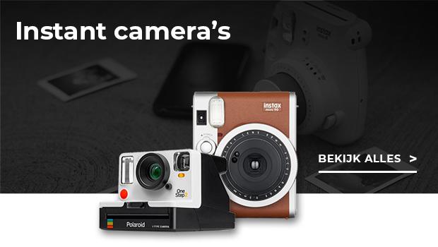 Bekijk hier alle Instant camera's
