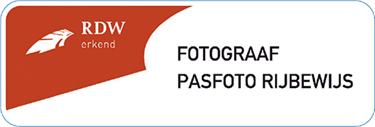 RDW erkend fotograaf voor pasfoto